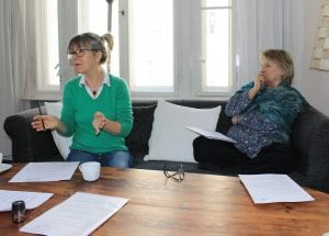 Teilnehmende des Salonnièren-Seminars.