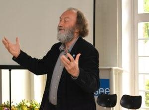 "Ex-IBA-Chef und ""Hausherr"" Prof. Rolf Kuhn"