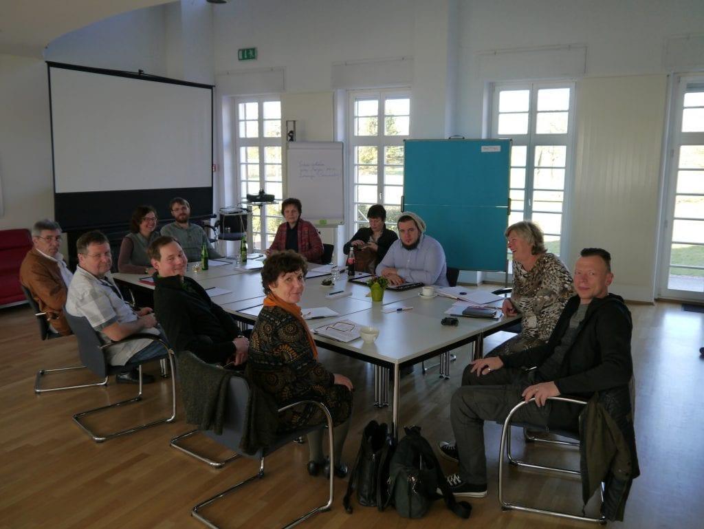Salonnièren-Seminar nach der Methode von Rohnstock Biografien im IBA-Studierhaus (April 2016) - 2