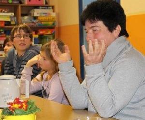 Erzählsalon in der Arche in Lauchhammer über Kinderstreiche der verschiedenen Generationen (18.01.2016) - 2