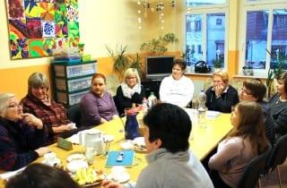 Zweiter Erzählsalon im Jugendbegegnungszentrum Lauchhammer