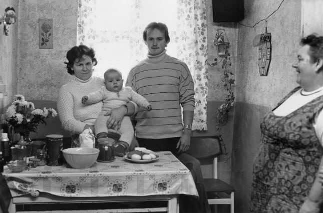 Familie M.T. Oderbruch 1983