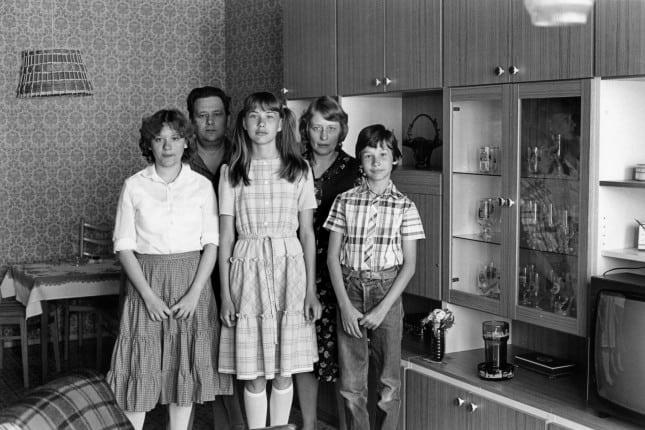 Familie W. Berlin-Lichtenberg 1983