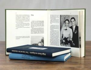 Umschlag und Layout Ihrer Biografie werden individuell nach Ihren Wünschen gestaltet