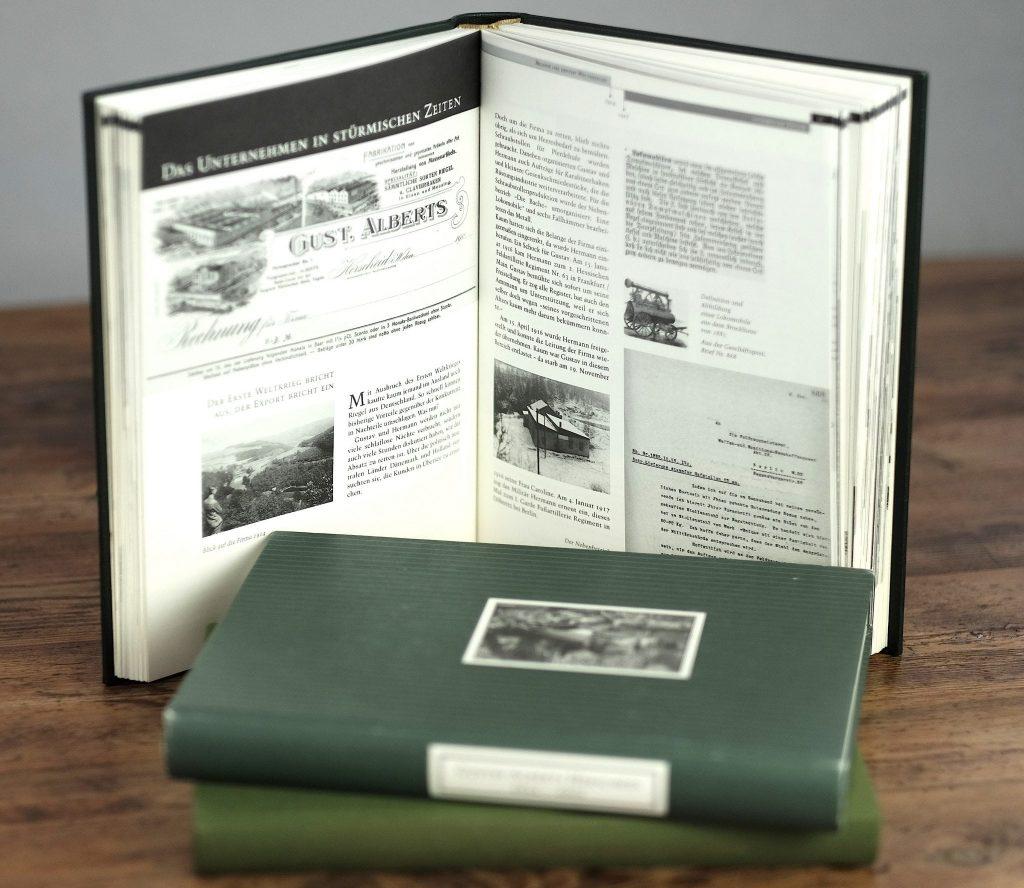 Firmenbiografie Alberts Layout