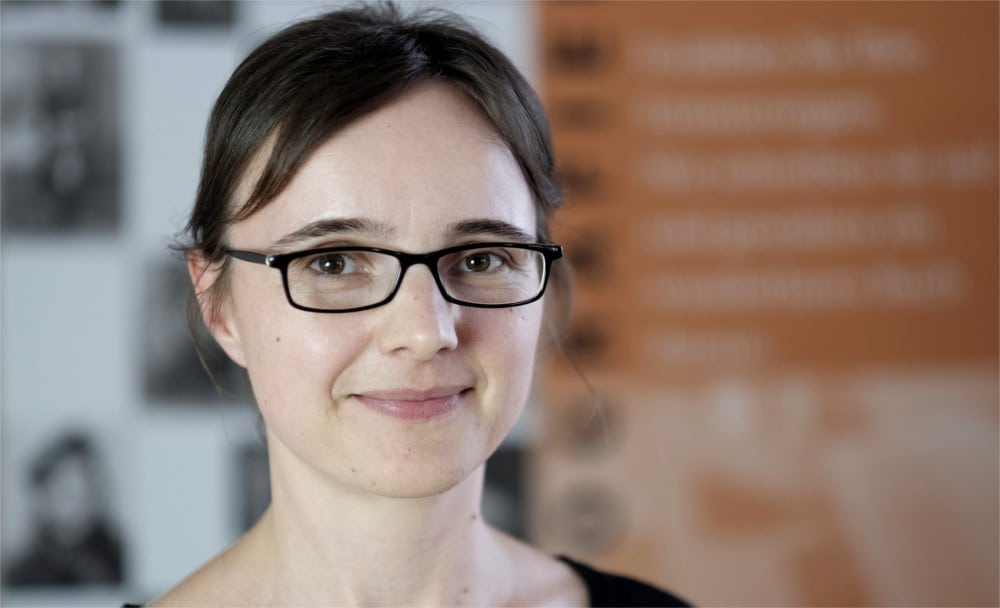 Lektorin und Projektkoordinatorin Antje Käske