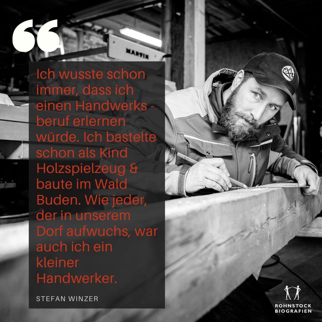 thüringen thüringer wald handwerk zimmermann lebensgeschichte biografie beruf ostdeutschland